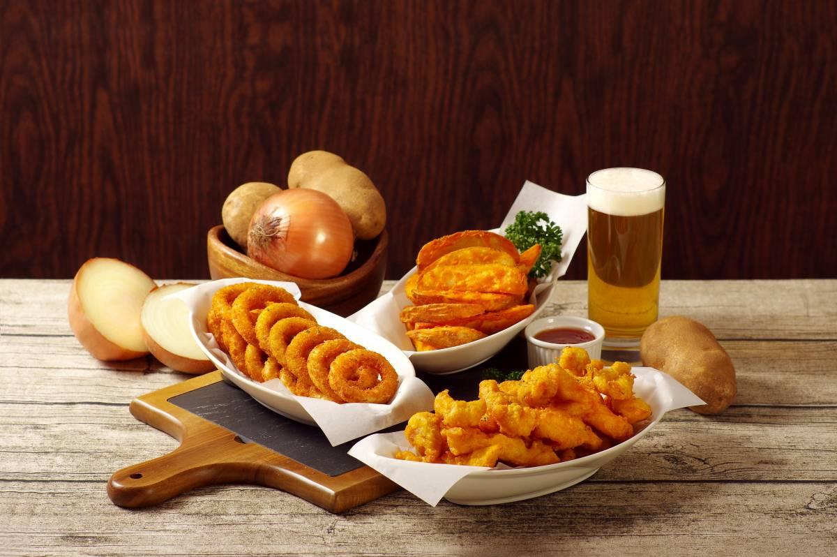 炸薯條、炸洋蔥圈、啤酒炸雞-17DE8340B