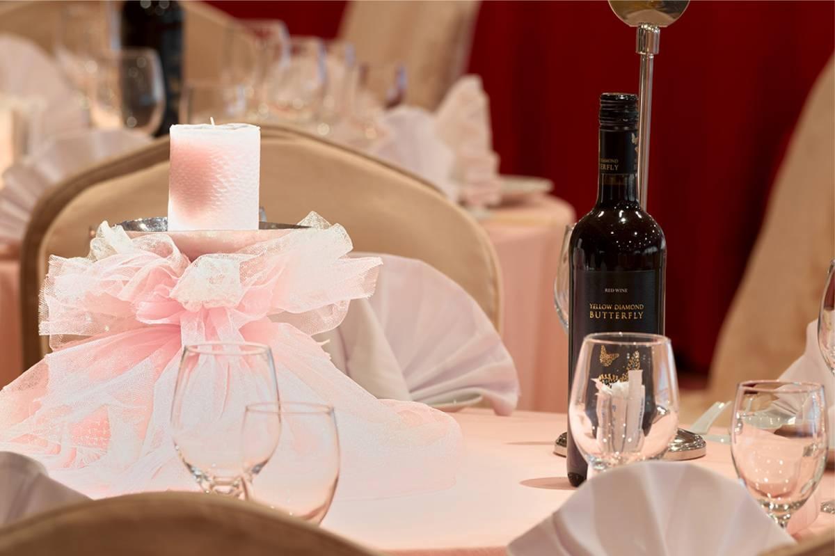 婚宴桌擺設